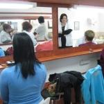 תלמידות בבית ספר לאיפור