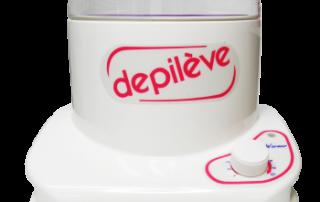 Depileve wax heater מחמם שעווה 800g